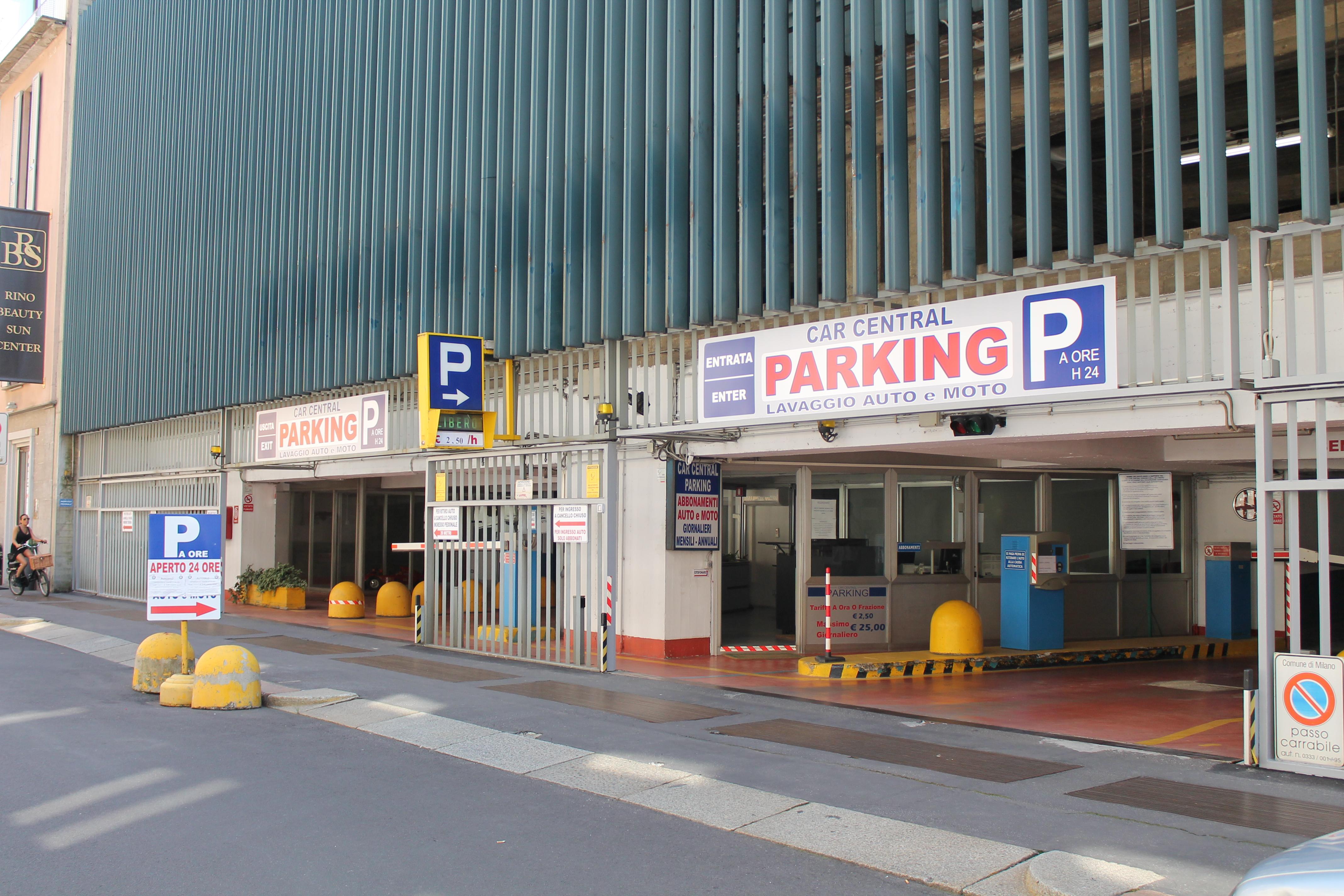 Car Central Parking Parcheggio A Milano Zona Duomo